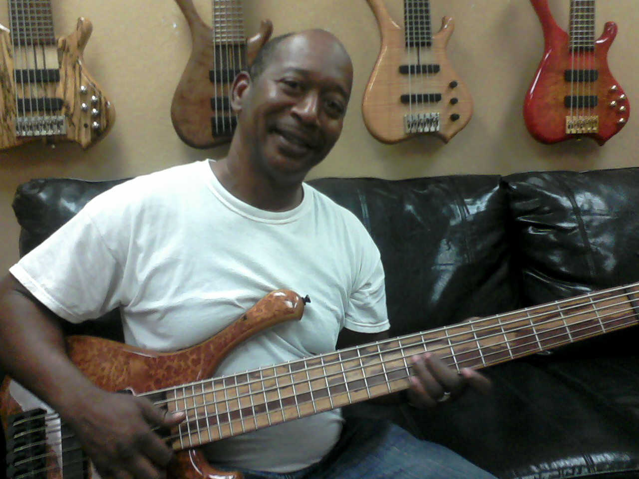 Jimmie Lee Moore, bass player for James Brown